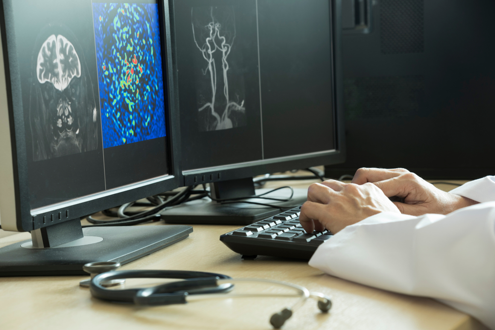 Clinical decision support (CDS) software considers the patient's symptoms to determine which imaging tests to run; thus