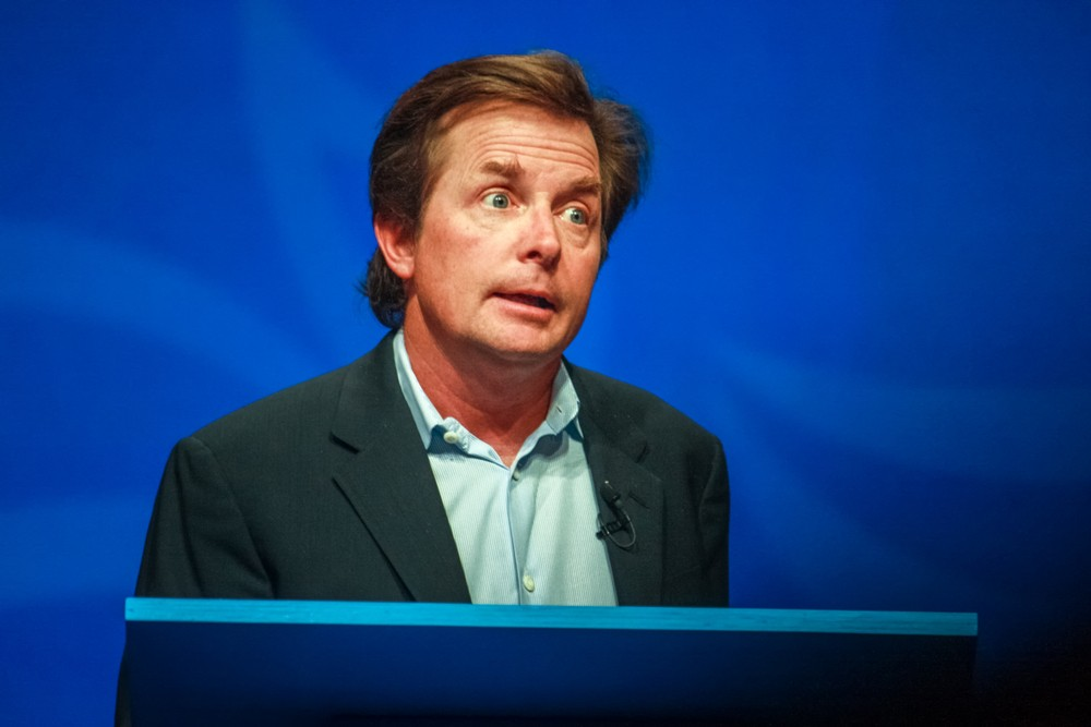 Michael J. Fox talks about new PET tracer and Parkinson's disease|brain scans and images - x-rays